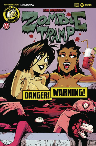 Zombie Tramp #37 (Blood Tub Risque Cover)