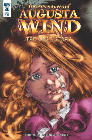 The Adventures of Augusta Wind: The Last Story #4 (Subscription Cover)