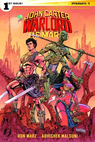 John Carter: Warlord of Mars #1 (20 Copy Malsuni Cover)
