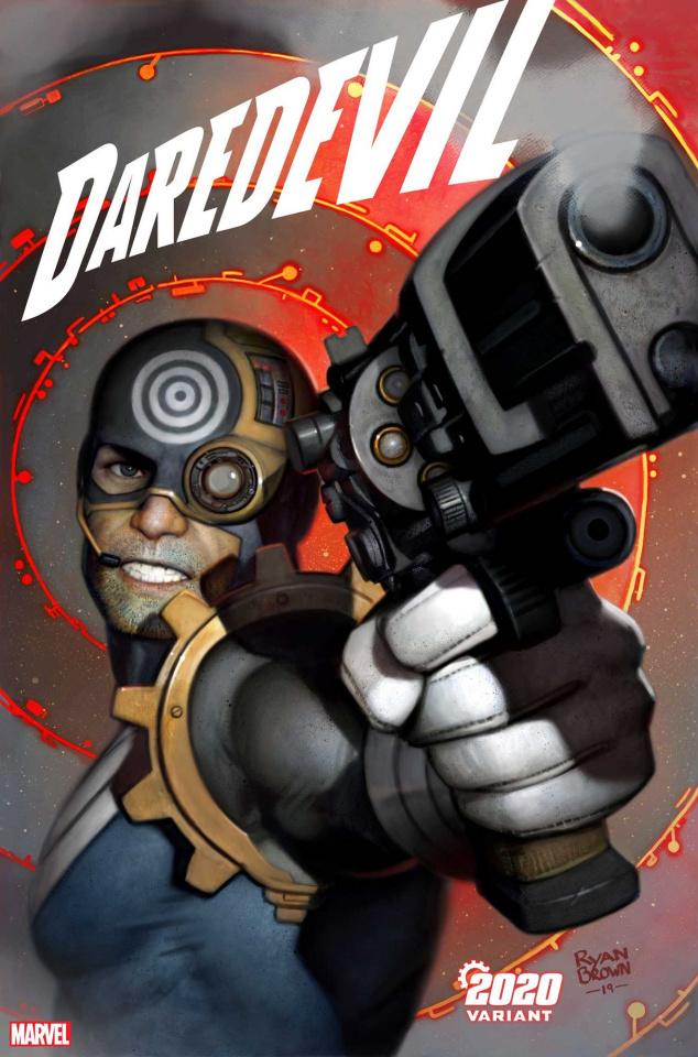 Daredevil #15 (Brown 2020 Cover)
