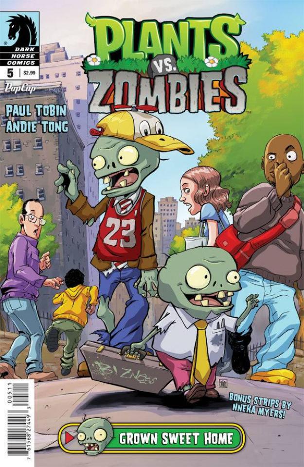 Plants vs. Zombies #5 (Grown Sweet Home)