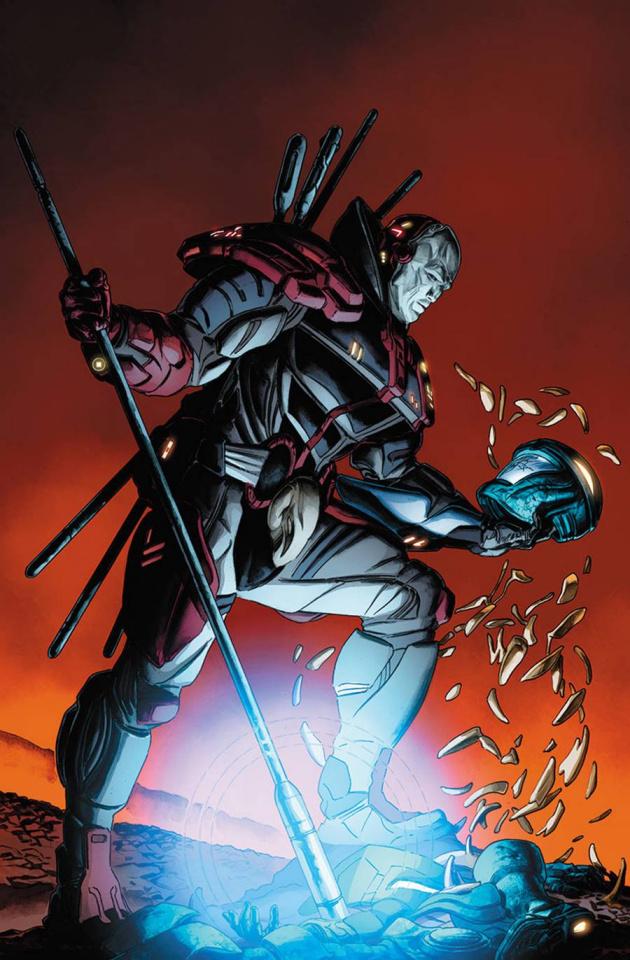 Armor Hunters #3 (Braithwaite Cover)