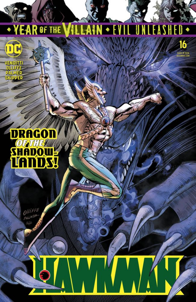 Hawkman #16 (Year of the Villain)