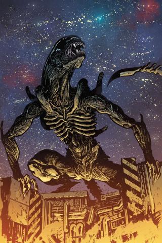 William Gibson's Alien 3 #3 (Johnson Cover)