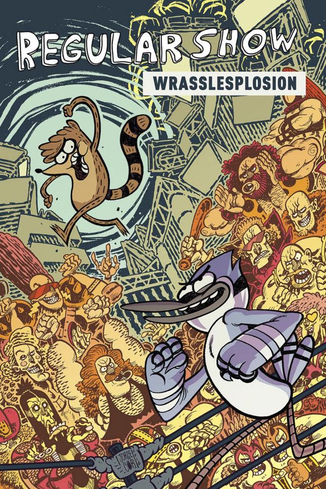 Regular Show Vol. 4: Wrasslesplosion