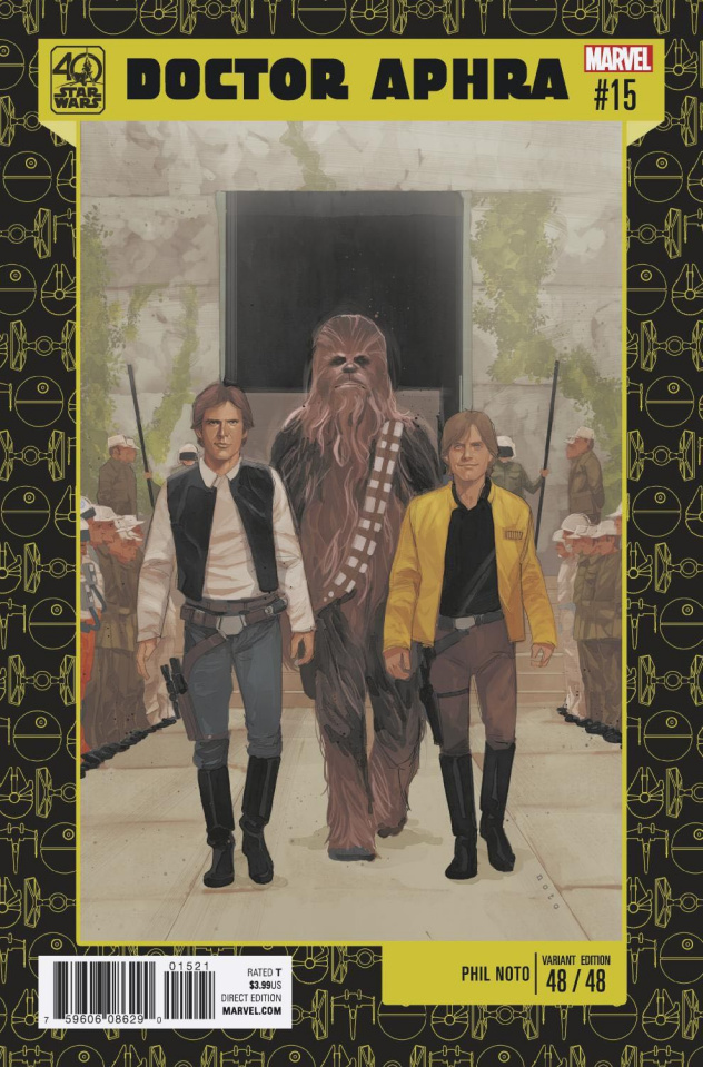 Star Wars: Doctor Aphra #15 (Noto 40th Anniversary Cover)