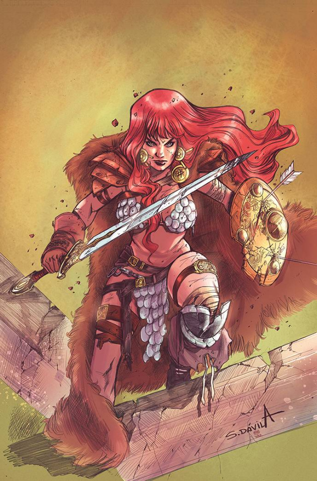 Red Sonja: The Superpowers #5 (25 Copy Davila Virgin Cover)