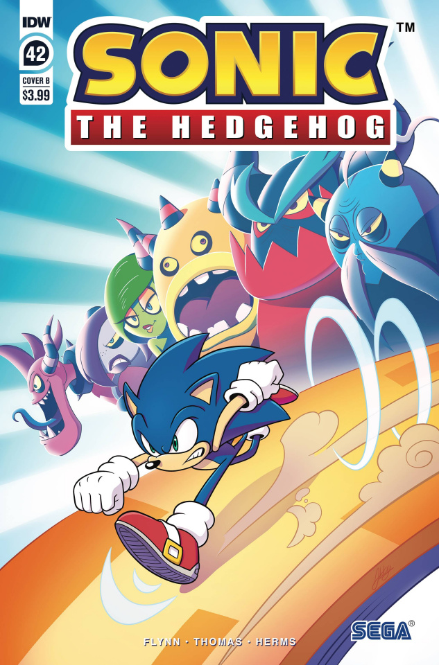 Sonic the Hedgehog #42 (Abby Bulmer Cover)