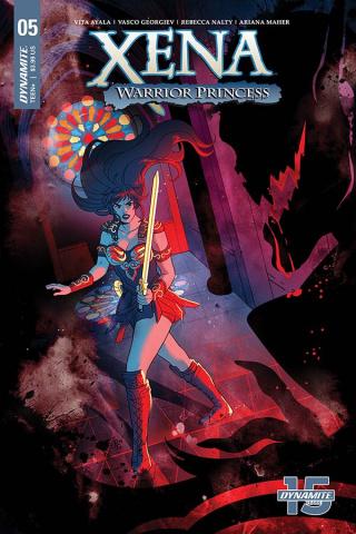 Xena: Warrior Princess #5 (Ganucheau Cover)