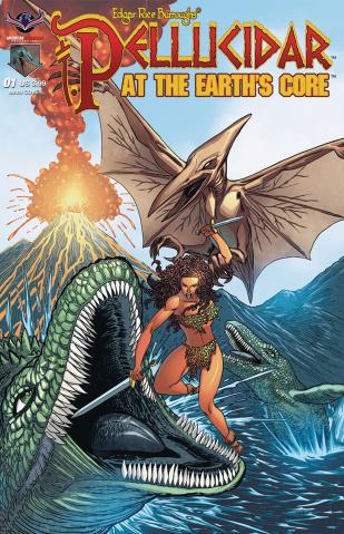 Pellucidar: Terror at the Earth's Core #1 (Hilinski Cover)