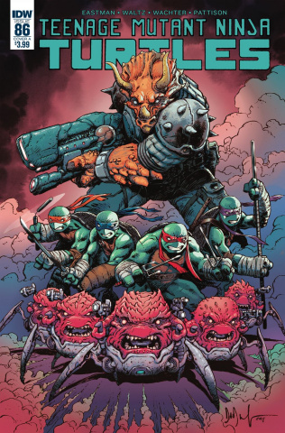 Teenage Mutant Ninja Turtles #86 (Wachter Cover)