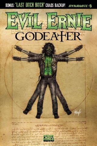 Evil Ernie: Godeater #5 (Parrillo Cover)
