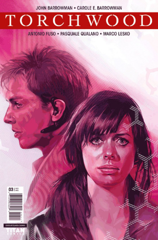 Torchwood #3 (Caranfa Cover)