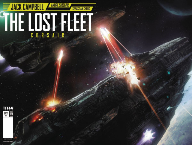 The Lost Fleet: Corsair #3 (French Wraparound Cover)