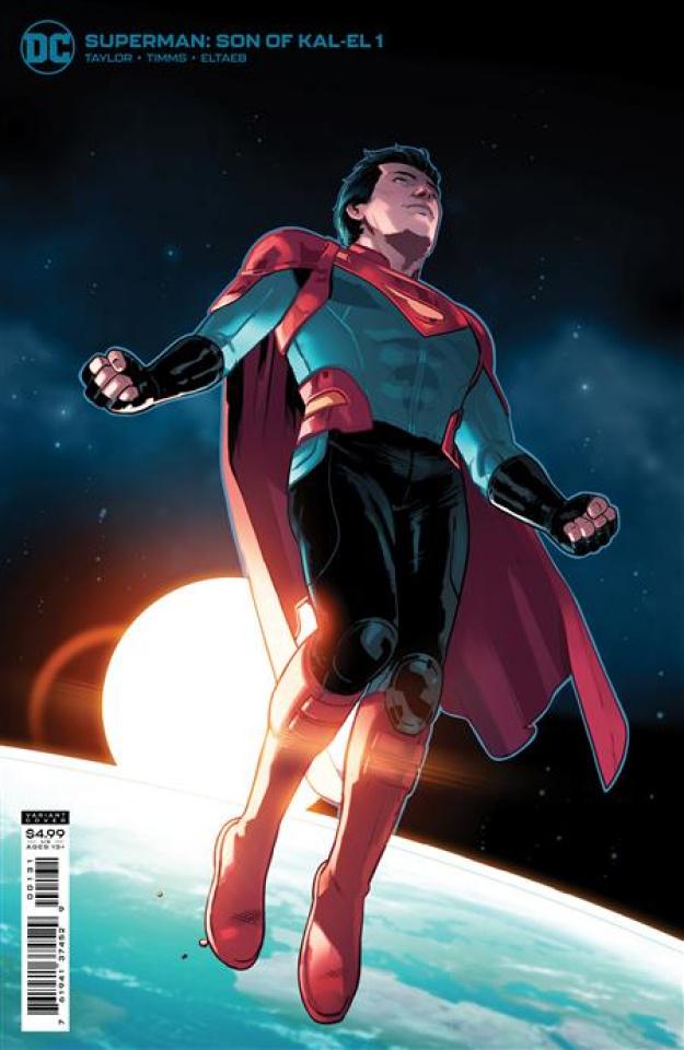 Superman: Son of Kal-El #1 (Stephen Byrne Card Stock Cover)