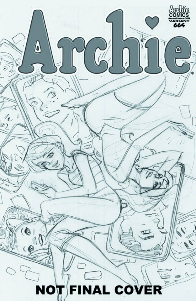 Archie #664 (Winter Is Coming Cover)