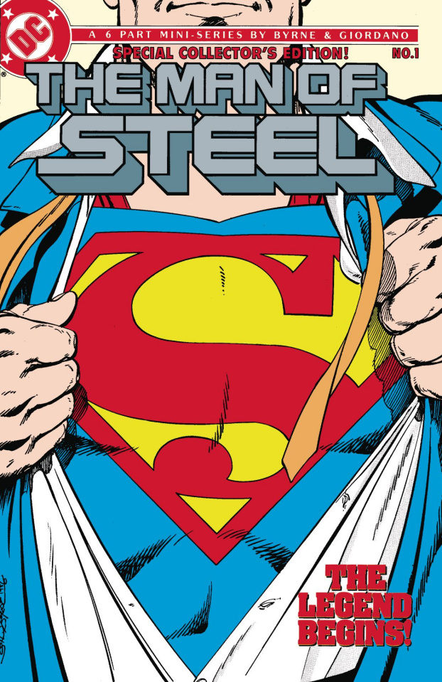 Superman: The Man of Steel By John Byrne Vol. 1 (Omnibus)