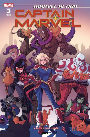 Marvel Action: Captain Marvel #3 (Boo Cover)