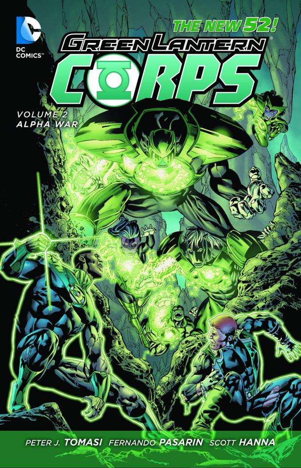 Green Lantern Corps Vol. 2: Alpha War