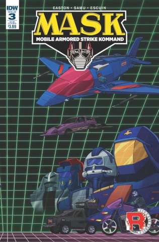 M.A.S.K.: Mobile Armored Strike Kommand #3 (Subscription Cover)