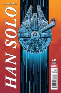 Star Wars: Han Solo #1 (Millennium Falcon Cover)
