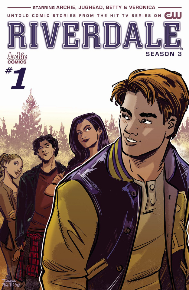 Riverdale, Season 3 #1 (Pitilli Cover)