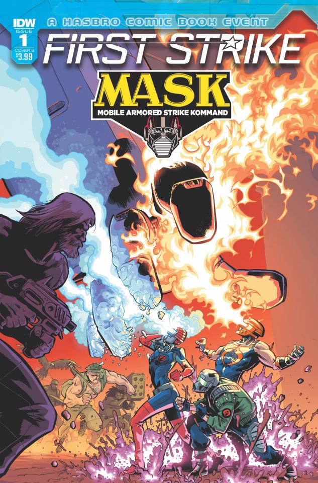 M.A.S.K.: First Strike #1 (Kyriazis Cover)