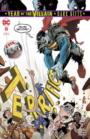 The Terrifics #19 (Dark Gifts Cover)