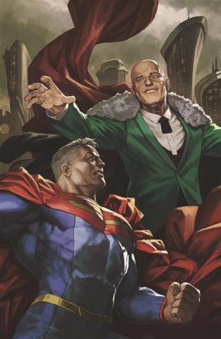 Future State: Superman vs. Imperious Lex #2 (Skan Card Stock Cover)