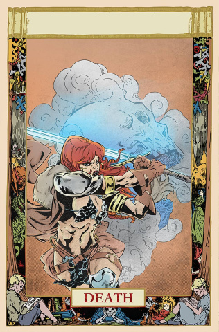 Red Sonja #24 (10 Copy Miracolo Virgin Cover)