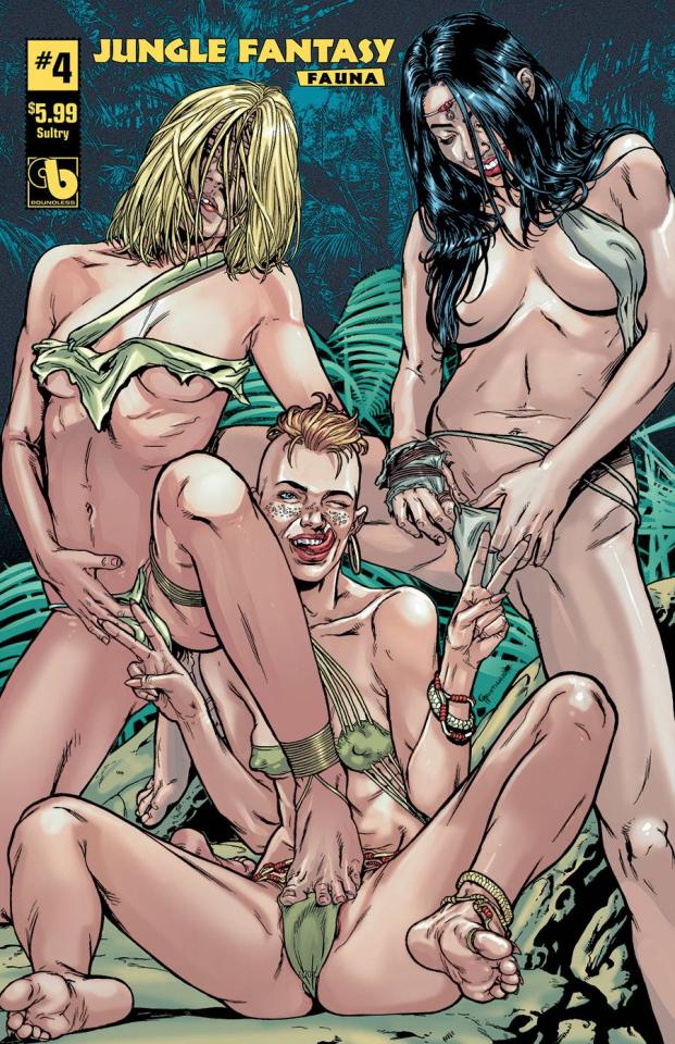 Jungle Fantasy: Fauna #4 (Sultry Cover)
