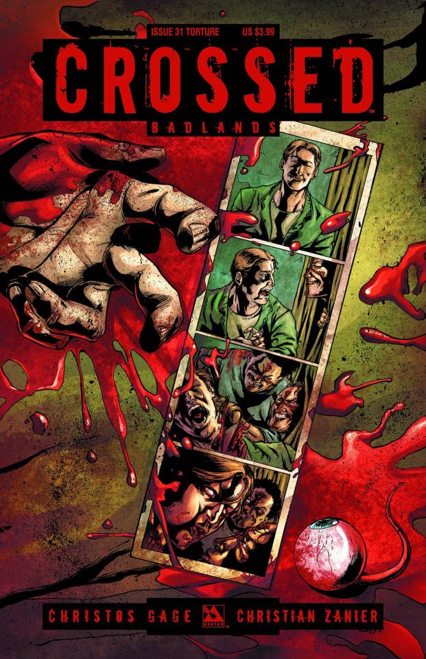 Crossed: Badlands #31 (Torture Cover)
