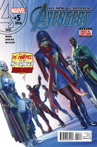 All-New All-Different Avengers #5 (Alex Ross 2nd Printing)