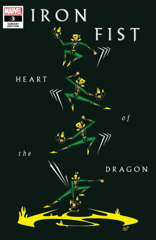 Iron Fist: Heart of the Dragon #3 (Veregge Cover)