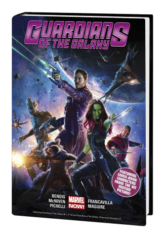 Guardians of the Galaxy Vol. 1 (Movie Cover)