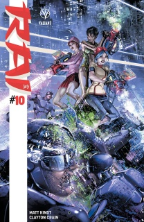 Rai #10 (Interlocking Crain Cover)
