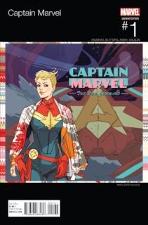 Captain Marvel #1 (Sauvage Hip Hop Cover)