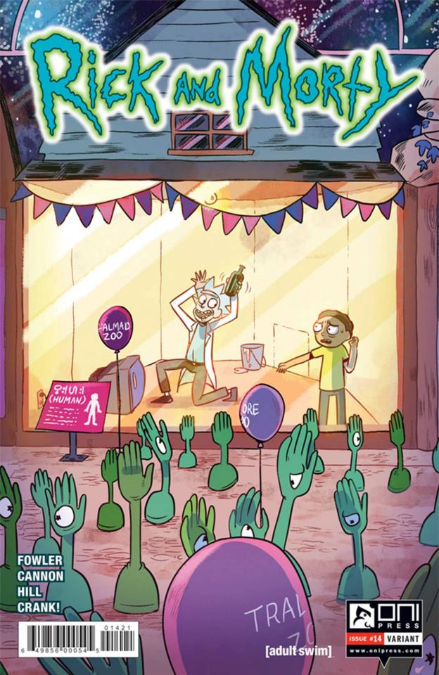 Rick and Morty #14 (Ganucheau Cover)