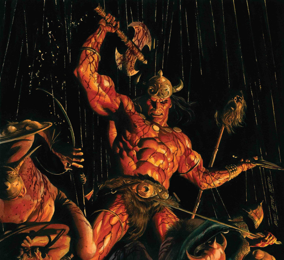 The Savage Sword of Conan #5