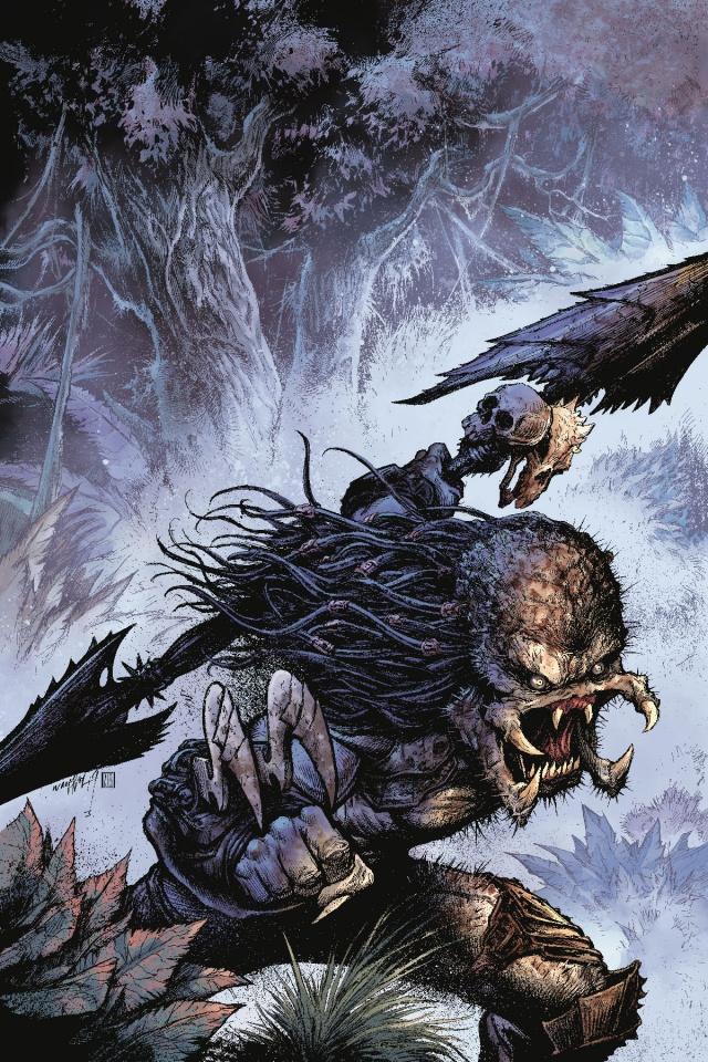 Predator: Hunters III #2 (Wayshak Glow Dark Ink Cover)