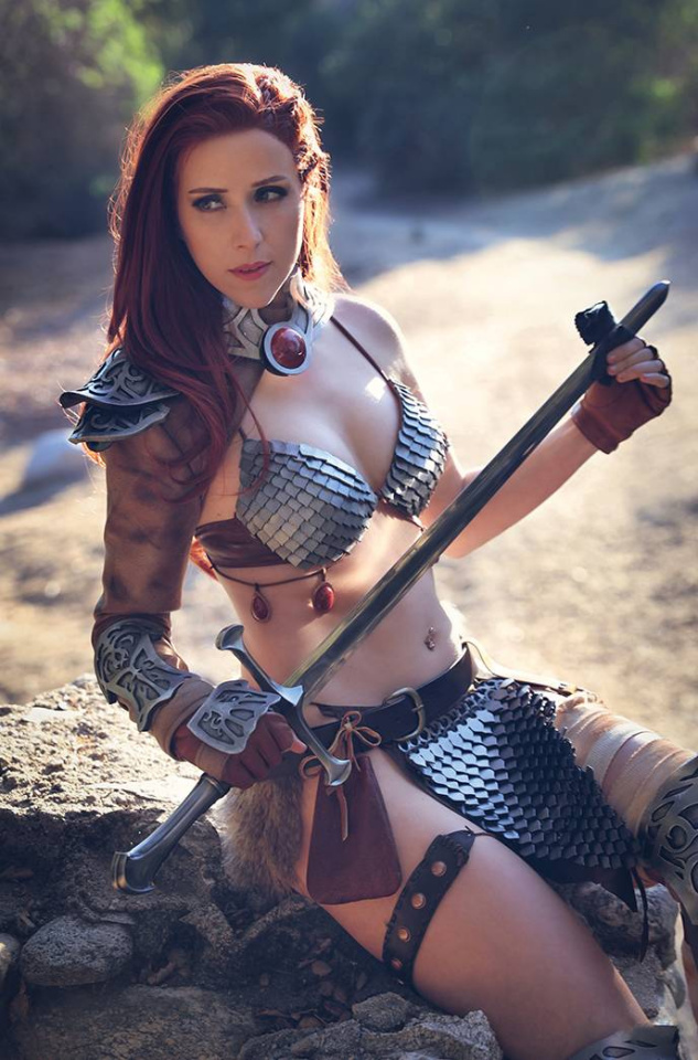 The Invincible Red Sonja #3 (20 Copy Cosplay Virgin Cover)