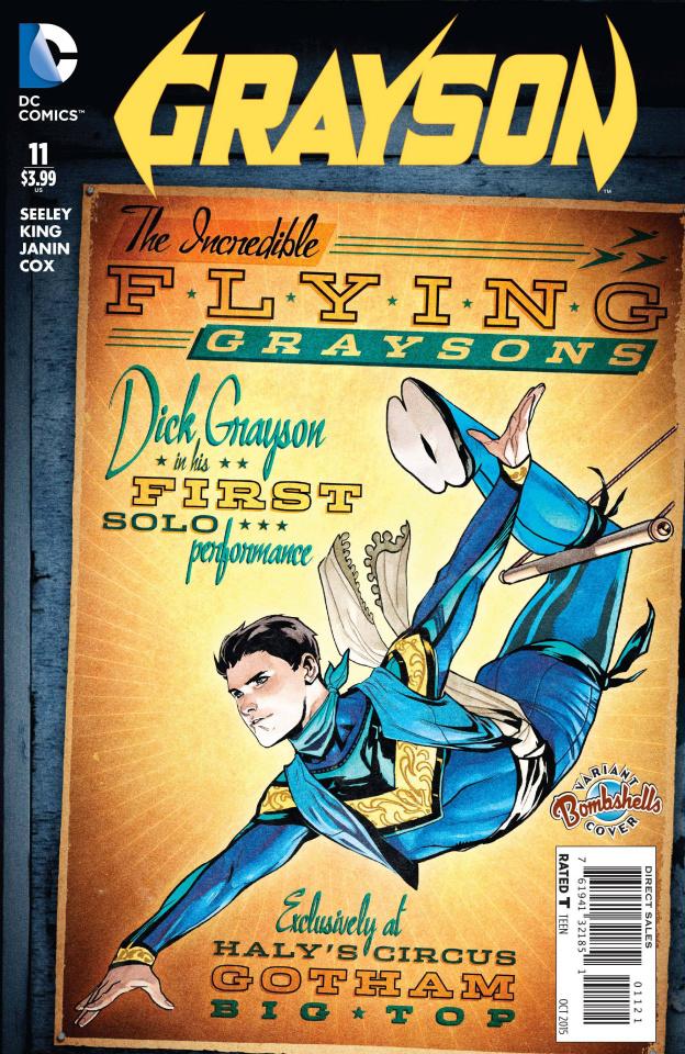 Grayson #11 (Bombshells Cover)