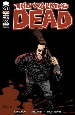 The Walking Dead #100 (2nd Printing)