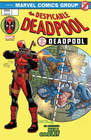 The Despicable Deadpool #287 (Espin Cover)