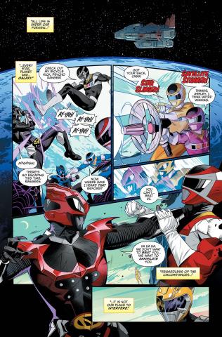 Mighty Morphin' Power Rangers #45 (Mora Cover)