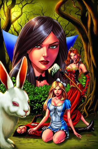 Grimm Fairy Tales: Alice in Wonderland #3 (Chen Cover)