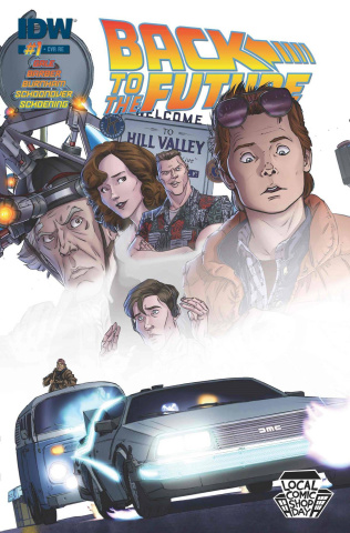 Back to the Future #1 (Local Comic Shop Day)