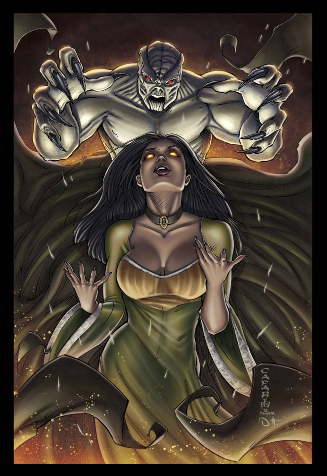 Grimm Fairy Tales: Ascension #2 (Cafaro Cover)