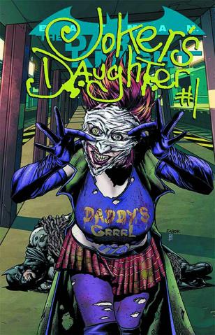 Batman: The Dark Knight #23.4: Joker's Daughter Standard Edition
