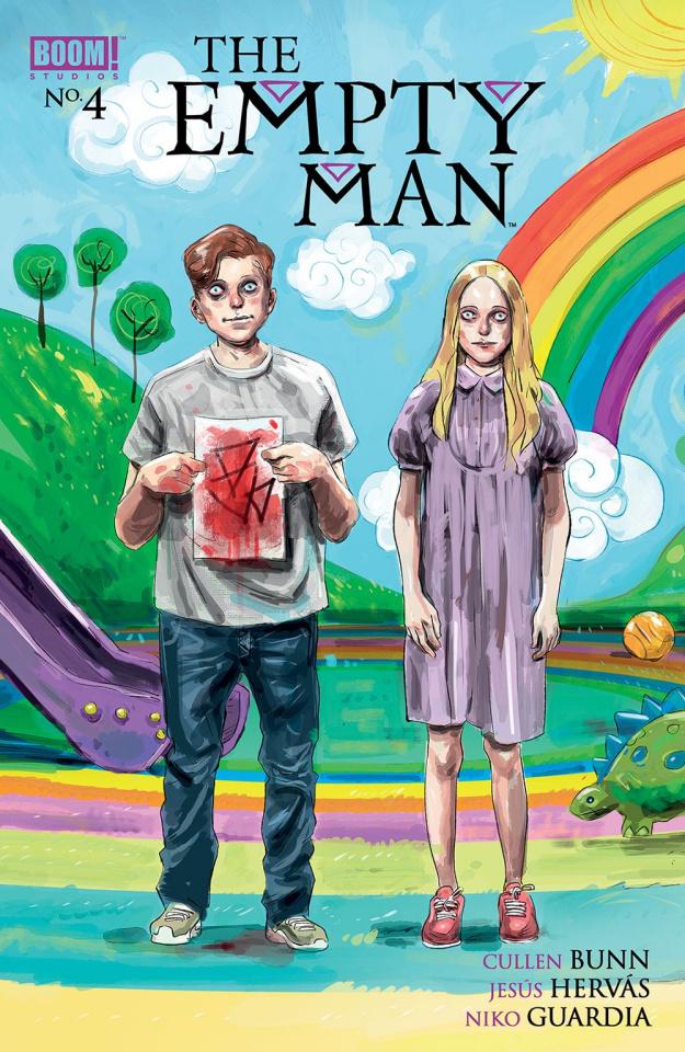 The Empty Man #4 (Hervas Cover)
